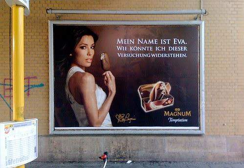 Ist diese Werbung von Magnum sexistisch?