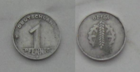 Ist Dieser Ddr Pfennig Von 1949 Mit Genau 180 Stempeldrehung Und