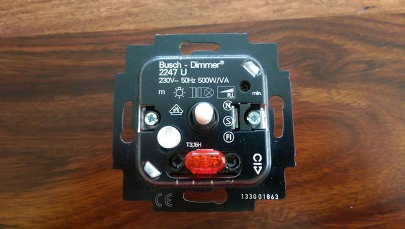 Der Dimmer - (Elektronik, Elektrotechnik, Lampe)