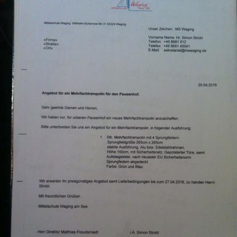 Das Obere - (Prüfung, Brief, projektpruefung)
