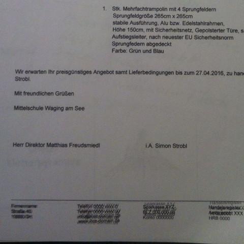 Das Untere  - (Prüfung, Brief, projektpruefung)