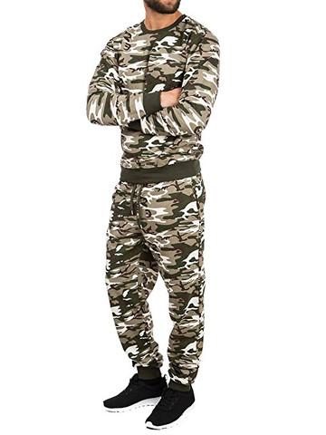 Militär jogginganzug - (Militär, Anzug)