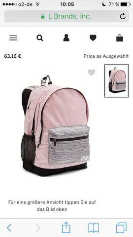 Pink Campus Rucksack  - (Schule, Rucksack, Victorias Secret)