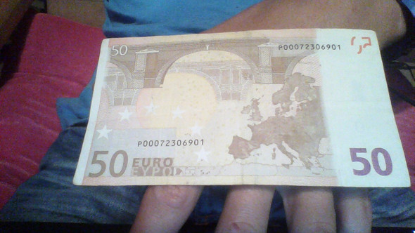 50 Euro Wertvoll? - (Geld, wertvoll, Fehldruck)