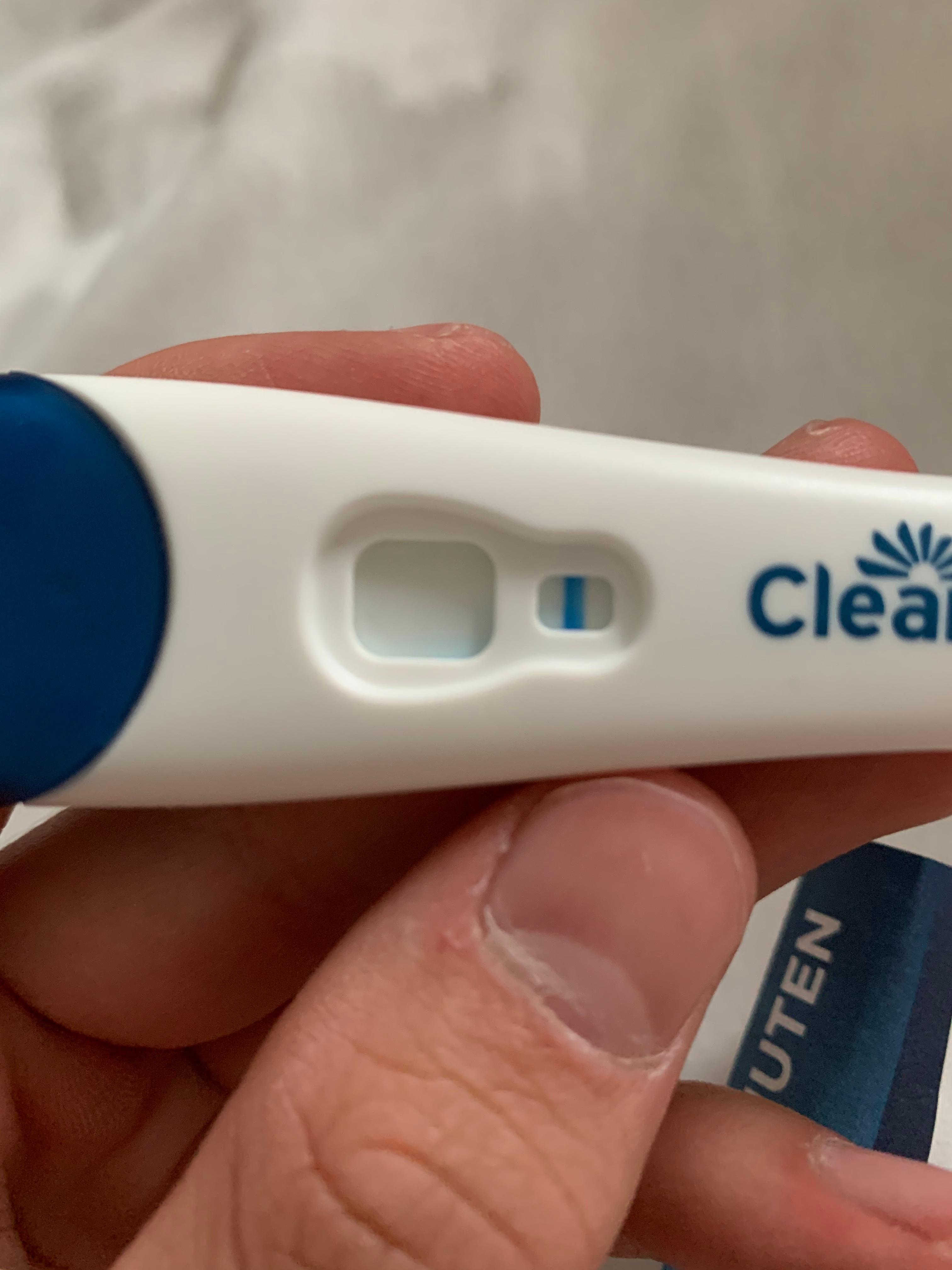Ist dieser Schwangerschaftstest positiv oder negativ ? (Sex, Schwangerschaft, schwanger)
