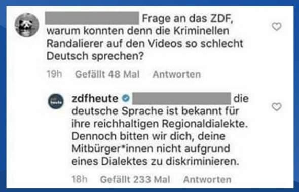 Ist dieser Tweet des ZDF echt oder Fake?