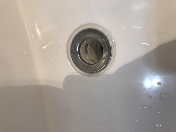 Waschbecken Dichtung