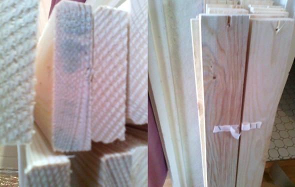 Das Lattenrost - (Holz, Schimmel, modrig)