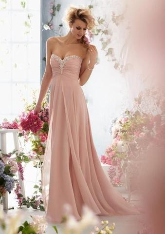 Ist dieses Kleid passend zu einer Hochzeit? (bodenlang)