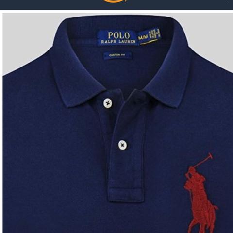 Etikett - (Mode, ralph lauren, Poloshirt)