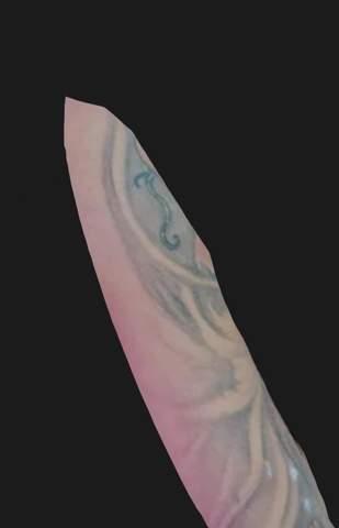 Ist dieses Tattoo alt oder warum so verwischt?