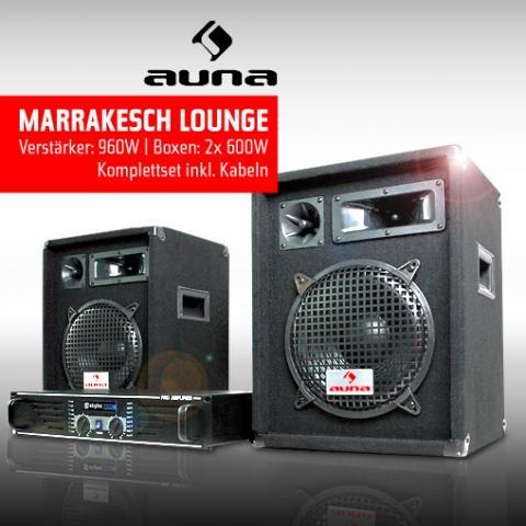 PA-Set - (Musik, Elektronik, Audio)