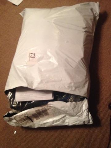 Ist Ein Paket Das In Folie Eingepackt Ist Sperrgut Post Dhl