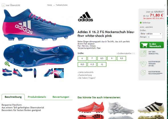 Der billigere Schuh  - (Fußball, Preis, Fussballschuhe)