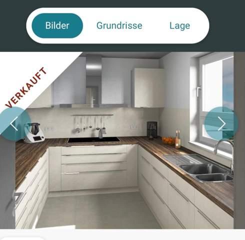 Ist eine 7qm Küche klein, kann das auf dem Bild eine 7qm Küche sein?
