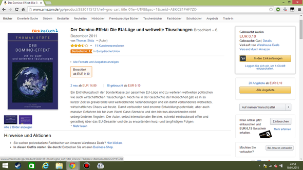 Billiges Buch - (Buch, Amazon, Versand)