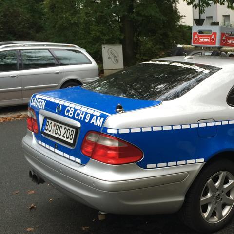 Fake Polizeiauto