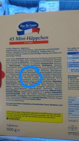 Foto der Verpackung - Duc De Coeur - 45 Mini-Häppchen - (Sicherheit, Lebensmittel, Blut)