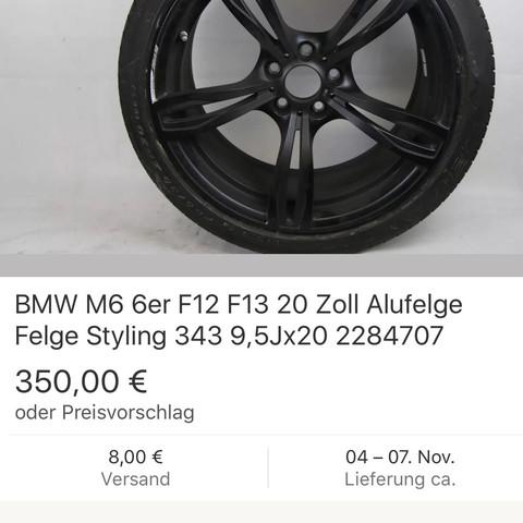 Das sind sie - (BMW, Felgen)