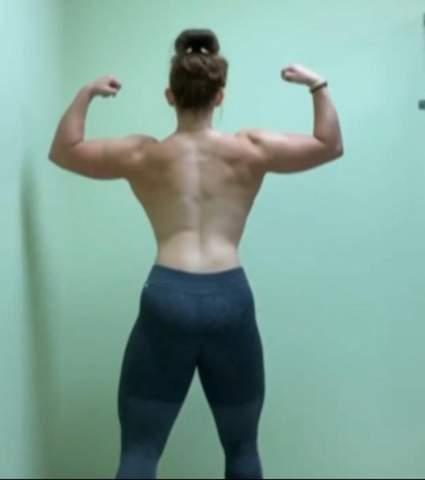 Ist es möglich, diese Person umzuschubsen oder ist es fast unmöglich, da sie stabil steht und muskulös ist?