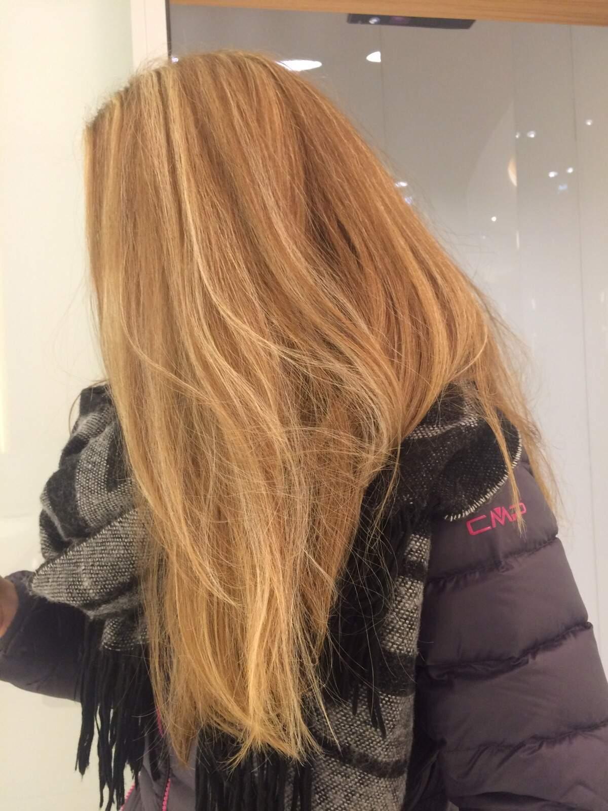 Strähnen braune haare mit blonde alfacgielo: Blonde