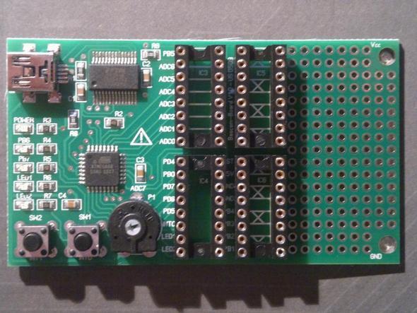 Bild vom Board - (Technik, Elektronik, programmieren)