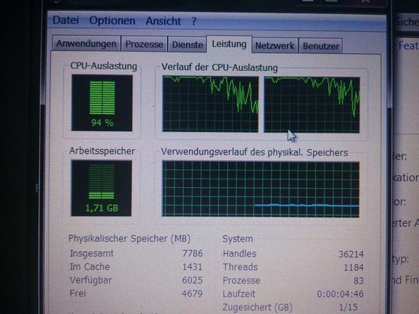 Auslastung - (Prozessor, cpu, Netbook)
