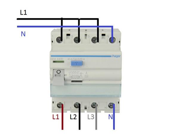 Ist es normal das ein Drehstrom RCD an Wechselstrom nicht funktioniert?