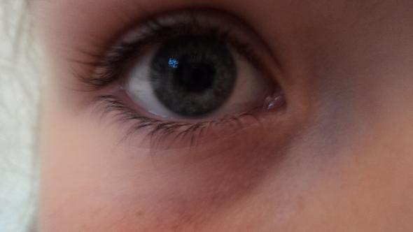 Mein Auge bei normalem Licht - (Augen, Augenfarbe)
