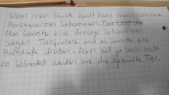 - (deutsch, stellungnahme)