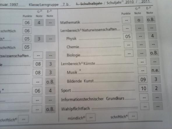 Kl. 7 - (Schule, Freunde, Sprache)