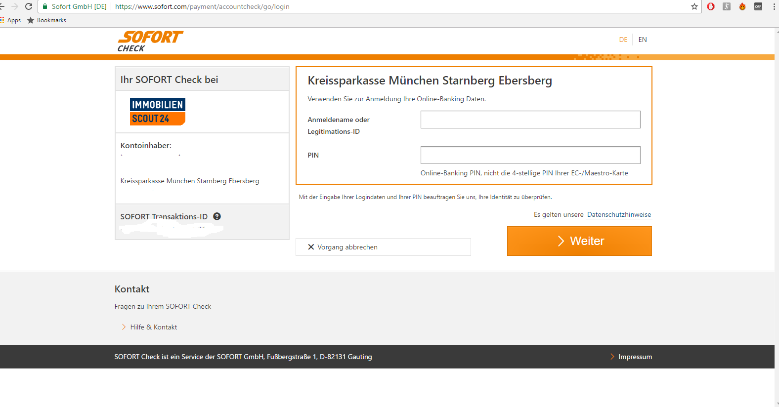 Was Ist Sofort Banking