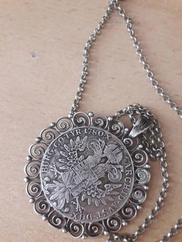 11 - (Alter, Silber, Medallion)
