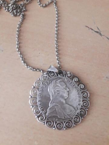 222 - (Alter, Silber, Medallion)
