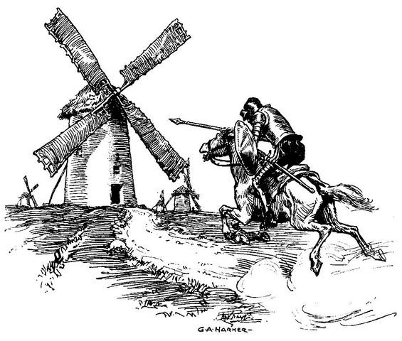 Ist es Zufall dass Don Quijote ein Mann ist (und keine Frau)?