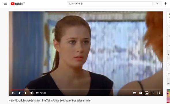 Ist Evie schon in h2o Staffel 3 Folge 20 dabei?