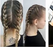solche Zöpfe meine ich - (Haare, Frisur, Nacht)