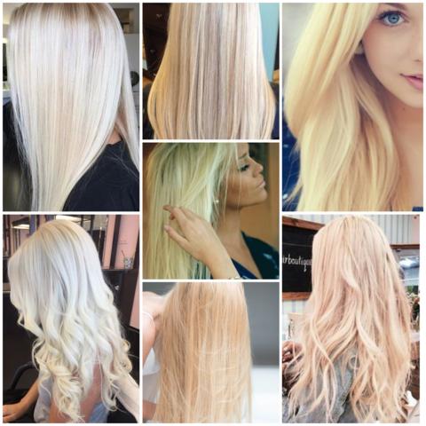 Ist hellblond die schönste Haarfarbe für Frauen?