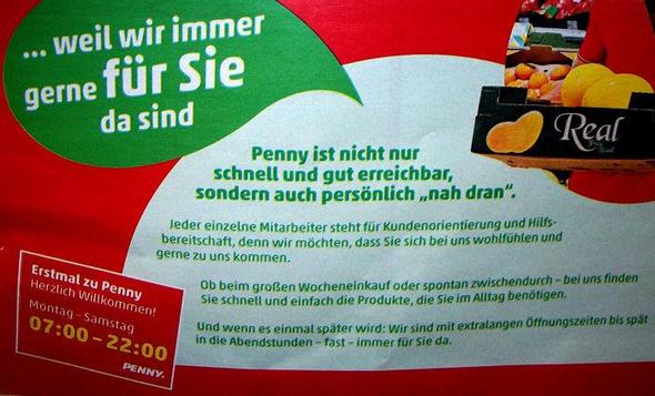 Penny-Prospekt - (Recht, Öffnungszeiten, penny)