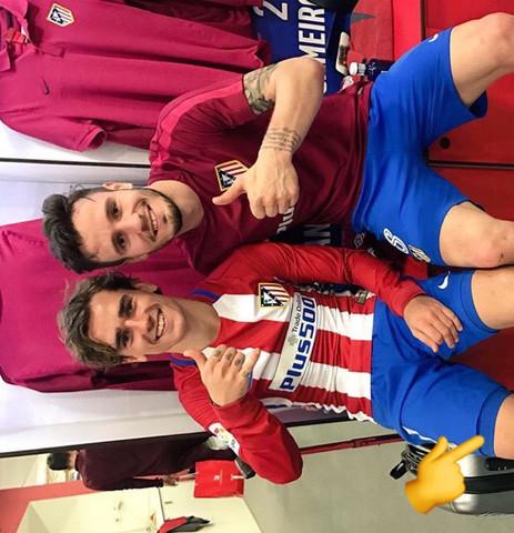 Griezmann mit Unterwäsche - (Sport, Fußball, Spanien)