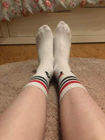 Mein Muscleshirt Und Füße