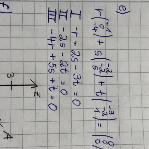 Mein bisheriger Lösungsweg  - (Mathe, Geometrie, vektoren)