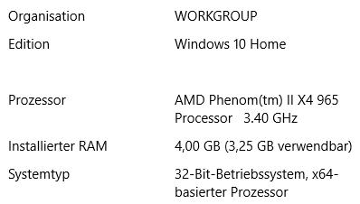 Meine PC Daten - (Computer, Technik, Windows)