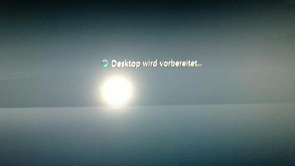 das kam nach dem Starten - (PC, Technik, Windows 7)