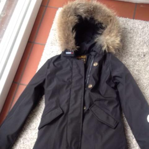 Woolrich winterjacke damen ebay