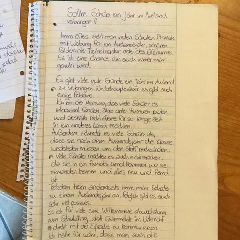ist meine dialektische errterung gut schule arbeit tipps - Dialektische Erorterung Beispiel Klasse 9