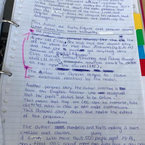 Ist Meine Englisch Analyse Gut Schule Lernen Unterricht