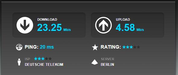 Speedtest - (Computer, Internet, WLAN)