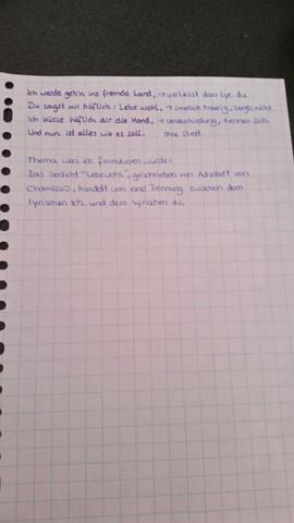gedicht mit notizen teil2 - (Schule, deutsch, Gedicht)