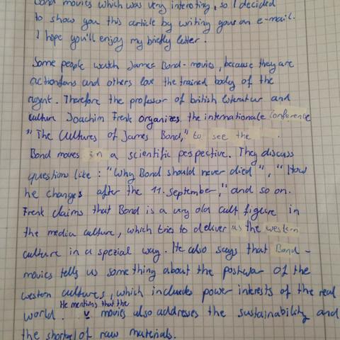 Teil 2  - (Schule, Englisch, danke)